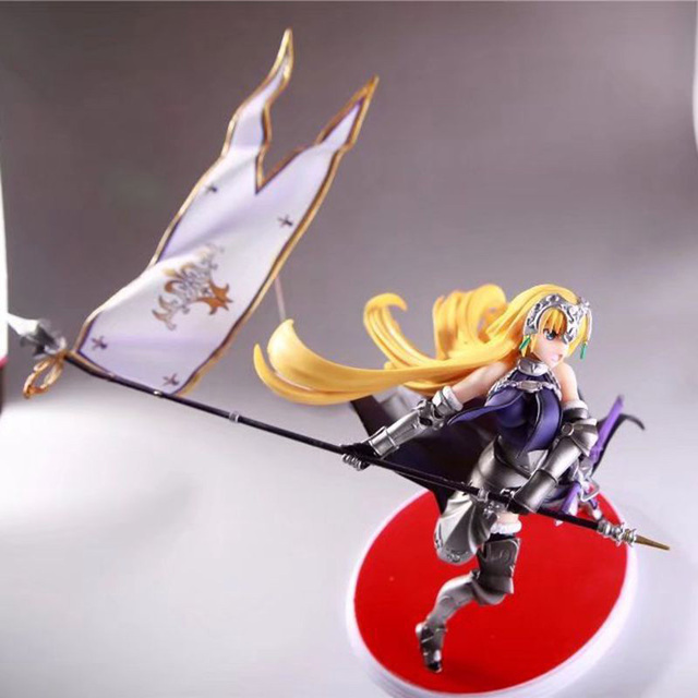 Fate Grand Order Joan of Arc Action Figure Waving Flags PVC Action Figure Collectible Model Toy no retial box (Chinese Version) 3