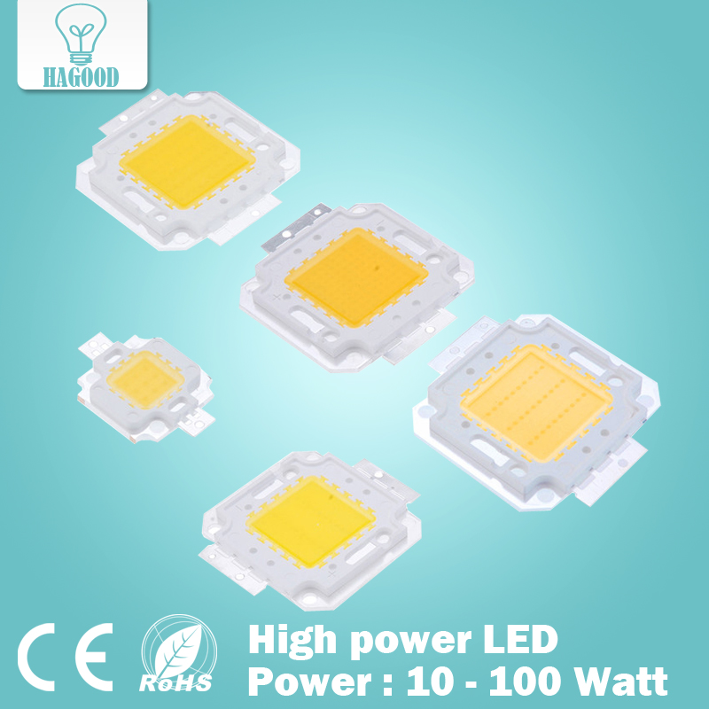 Super 10W 20W 30W 50W 100W LED Integrated High power LED bulb White/Warm white EPISTAR COB Chips led lamps охлаждение для компьютера cooltex 95x95x30mm 30w 100w 95x95x30 white