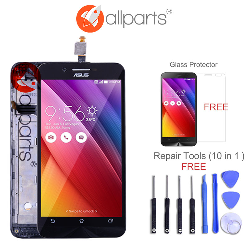 Original 5.0 IPS Display For ASUS Zenfone Go ZC500TG LCD Touch screen Digitizer Assembly Replacement Parts ...