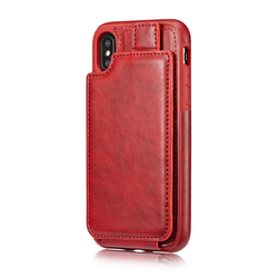 New iphoneX mobile phone cases iphone 6 7 8 / business anti-fall wallet style mobile phone shell unisex mobile phone shell sale 4