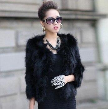 2012 winter  finn raccoon  fur coat short design   fur jacket* free shipping BE-1283 1