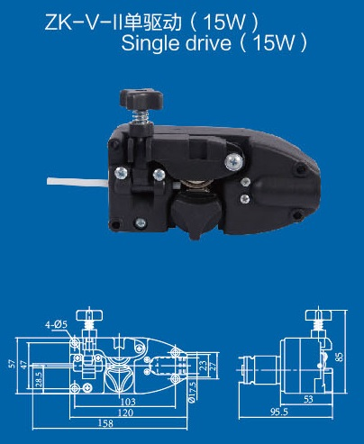 12V  24V DC Light Duty MIG Wire Feeder Assembly Wire Feed Machine For Mig Welder Welding Torch