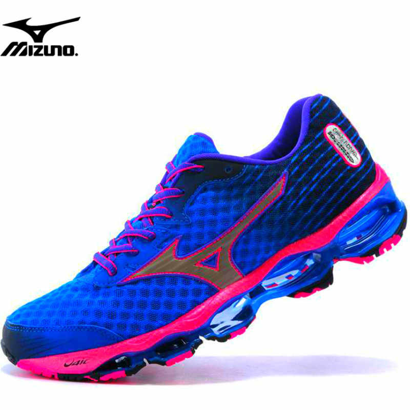 4ada85eecd2a Original Mizuno Wave Prophecy 4 Women Sneakers Breathable Mesh Sport Shoes  Blue Stable Weight lifting Shoes
