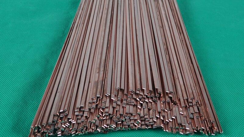 5//10//20 Pcs Electrode Low Temperature Copper Welding Rods BCU93P Phosphor