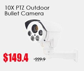 10x bullet ptz camera