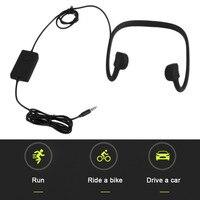 BTL-G002L Preto Condução Óssea Fone De Ouvido Micro-Cabo De Carregamento USB de Alta Velocidade de Transmissão Bluetooth Esporte Fone de Ouvido Venda Quente