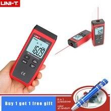 UNI-T ut373 mini tacômetro da luz de fundo do laser digital não-contato tacômetro faixa de medição 10-99999 rpm tacômetro odômetro km/h