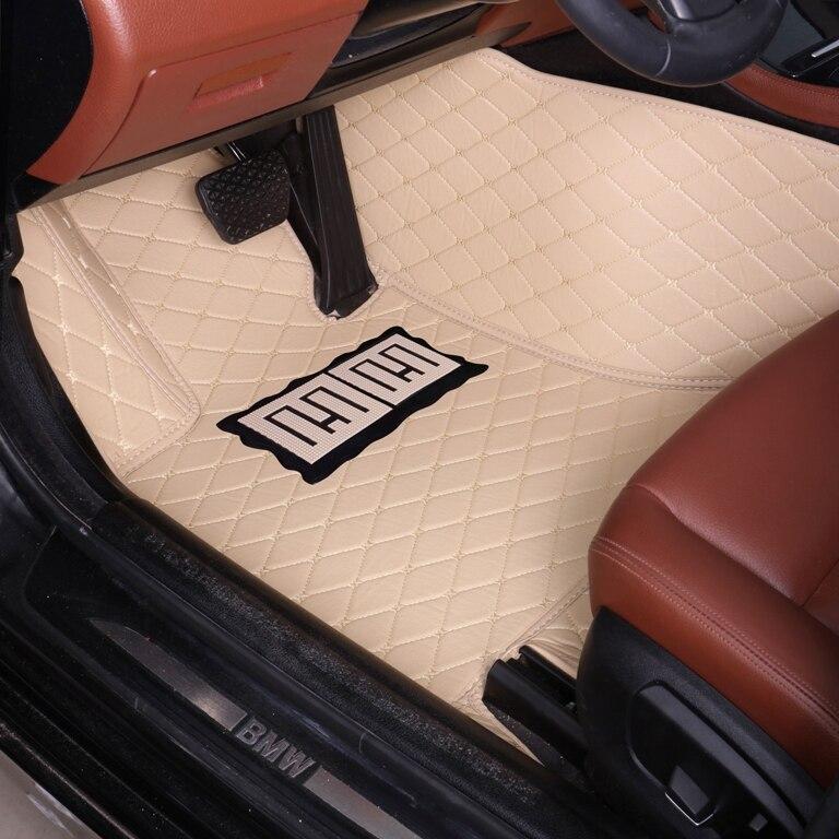 Tapis de sol de voiture pour Honda Accord Civic CRV City Vezel Crosstour Fit revêtement de sol en moquette robuste