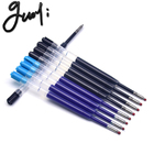 Guoyi K066 neutral gel pen refill. Office Writing accessories gifts pen DIY choose Blue black 424 G2 gel 0.5mm pen nib sale 10pc