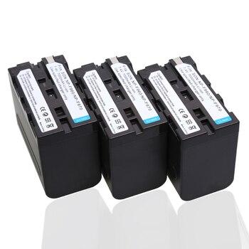 3pcs/lot 7.4V 7000mAh NP-F960 NP-F970 batteries F960 battery pack For Sony NP-F550 NP-F770 NP-F750 F960 F970 , for MC1500C 190P фото