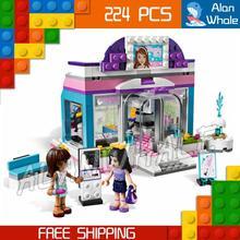 220pcs Bela 10156 new Friend Series Butterfly Beauty Shop Emma Model Buliding Blocks Bricks toys Compatible
