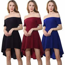 Europe and the United States summer new hot explosion fashion temperament sexy loose high waist female dress