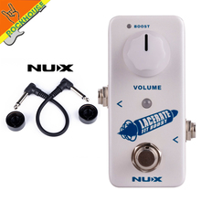 NUX lacelate Booster Guitar Effects Pedal Boost 2 modes Mini but powerfull True Bypass Free Shipping