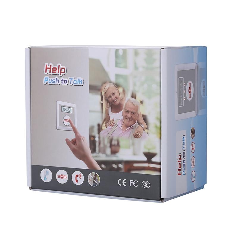 K4 GSM Alarmsysteem Home Alarm Kit DIY Huis Alarm Fire Intrusion Veiligheid SOS Inbraakalarm K4 Pakket Set Een