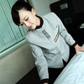 Cleaning long sleeved Uniform  Hotel Waiter Clothing Autumn and Winter  Style Dress Uniform