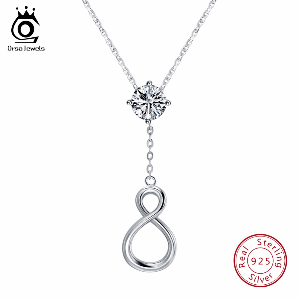 silver amazon dainty forever dtla com dp sterling infinity jewelry sign necklace