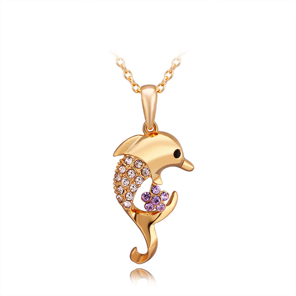 Gold color dolphin pendant for jewelry making necklaces pendulum gold color dolphin pendant for jewelry making necklaces pendulum charm cameo bijouterie pingente indian necklace aloadofball Gallery