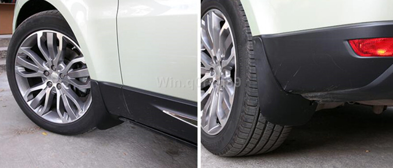 14-16 For Land Rover Range Rover Sport 2014 2015 2016 Brand New Oem Style Front and Rear Mud flaps Mudguards Full Set подвеска компрессор насос oem крышка для land rover lr044026 lr044027