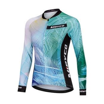 Men/'s Pro Cycling Jersey Long Sleeve Jacket Mountain Road MTB Bike Shirt Maillot