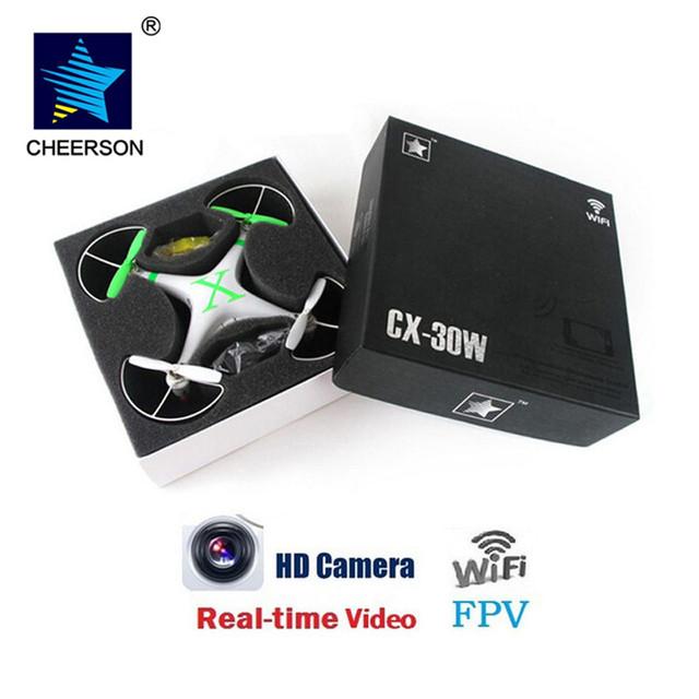 Cheerson cx-30w drones canales drones fpv rc quadcopter drone rc helicóptero con cámara profesional vs syma x5sw x8c