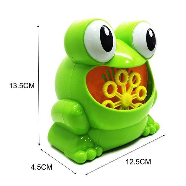 New Cute Frog Automatic Bubble Machine