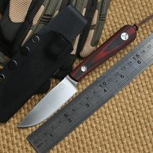 Bolte Scout D2 blade G10 handle fixed blade hunting straight knife KYDEX Sheath camp survival outdoors tactical EDC knives tools