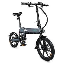Fiido D2 Folding Electric Bike Three Riding Modes Ebike 250w Motor 25km/h 25-40km Range E 16 Inch Tire Bicycle