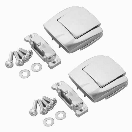 Image 2 - Motorcycle Razor Chopped King Tour Pak Latches & Hinges For Harley Touring Road King Road Electra Glide Street Glide 1988 2013-in Covers & Ornamental Mouldings from Automobiles & Motorcycles