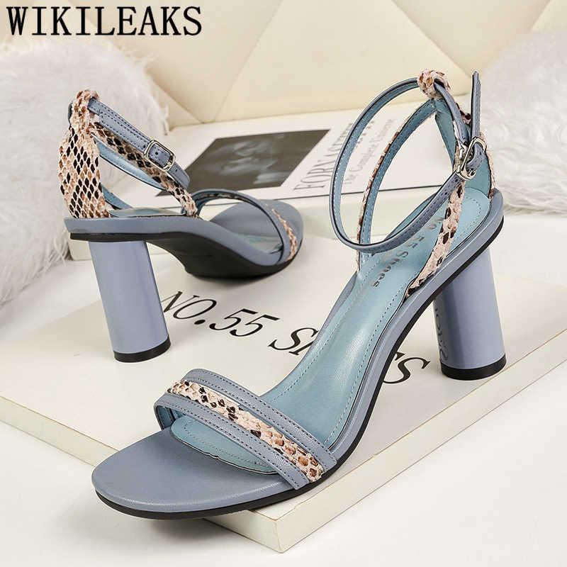 Mary jane ayakkabı seksi yüksek topuklu yılan baskı ayakkabı yaz yüksek topuklu seksi elbise ayakkabı kadın fetiş yüksek topuklu chaussures femme