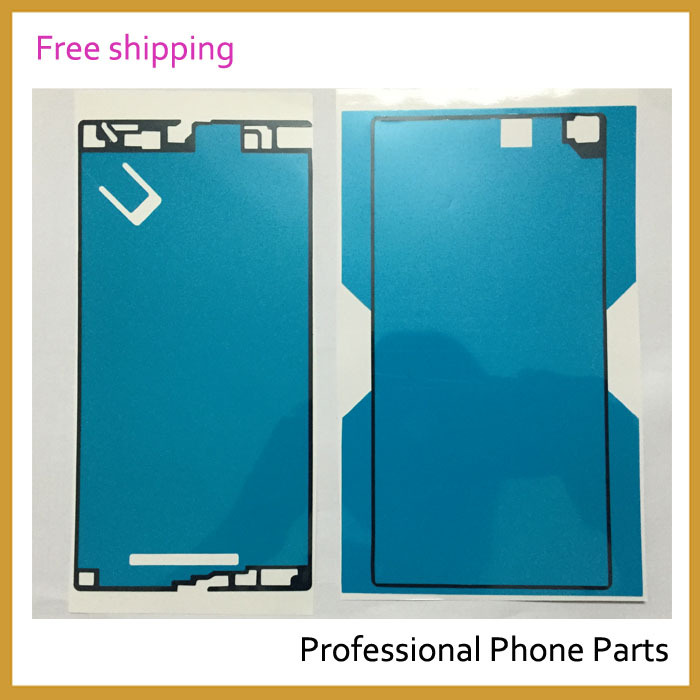 New OEM Battery Back Glass Door Glue Adhesive + LCD Frame Sticker Tape Glue For Sony Xperia Z Ultra XL39h Waterproof Sticker