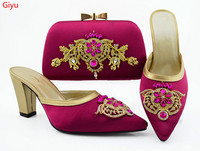 doershow Shoes with Matching Bags 201 African beautiful Shoe and Bag Set Italian Design African Shoes and Bag Set!!!HVC1 34