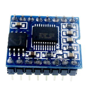 Image 2 - 5pcs WT588D WT588D 16P Series Voice Module Voice Chip 16P 8M Memory