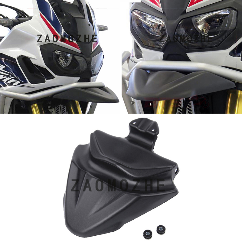 For HONDA CRF1000L Africa Twin 2016 2017 2018 Motorcycle Parts Front Nose Fairing Beak Cowl Protector