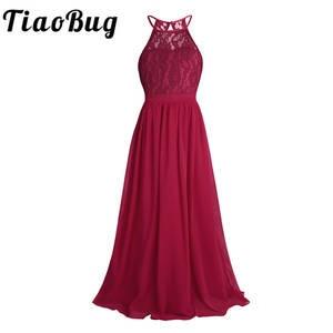 e22436206d96 TiaoBug Lace Flower Girl Dress Pageant Wedding Party Dress