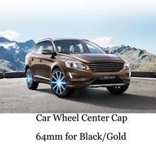 4pcs 2 Color 64mm Car Wheel Center Cap Hub For XC90 XC60 XC70 V40 V50 V60 V70 V90 S40 S50 S60 Rims Cover Emblem Sticker