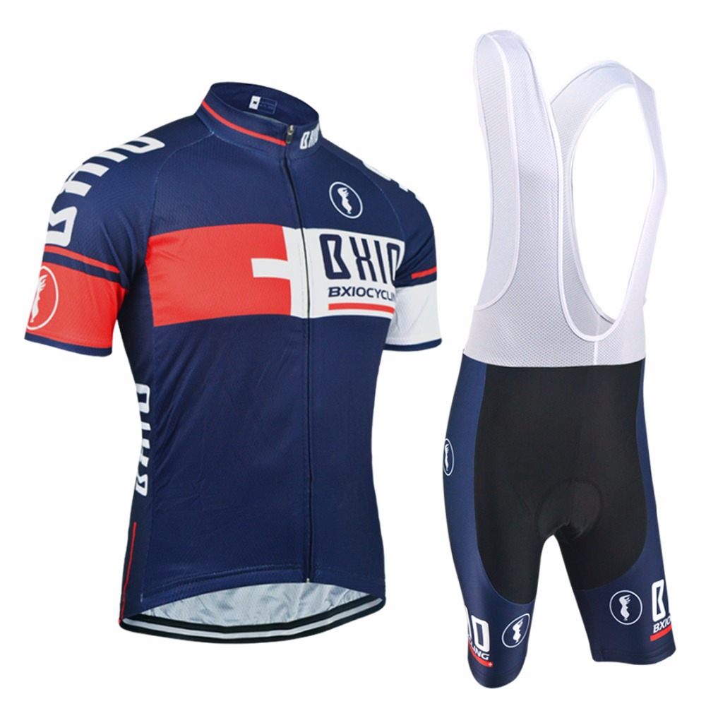 ФОТО Hot Selling BXIO Cycling Set Pro Team Bike Clothes Maillot Ciclismo Men's MTB Bicycle Clothing Multi Color Red Ropa Ciclismo 025
