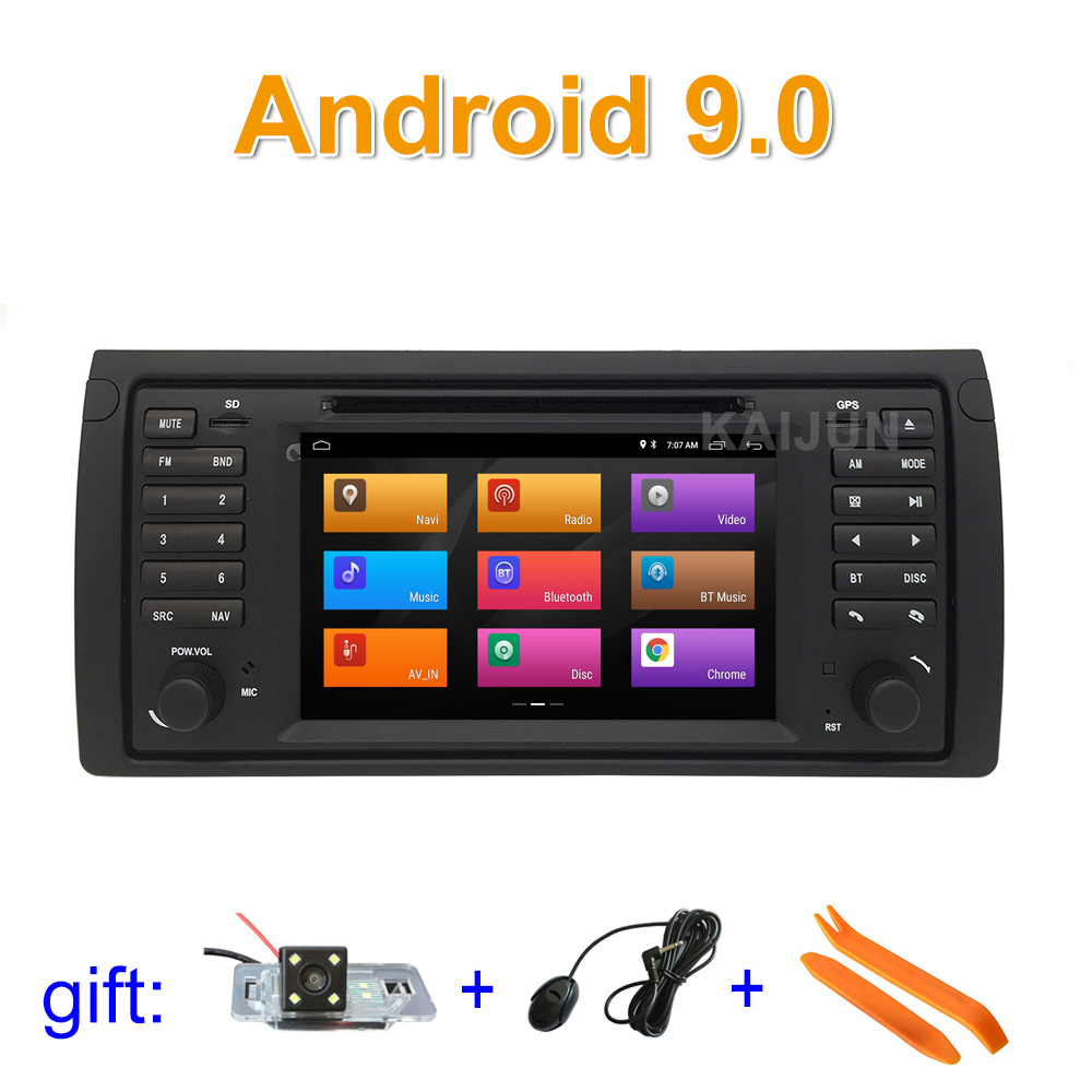 DSP IPS Android 9 Car DVD Stereo Radio Player GPS for BMW E53 X5 with WiFi