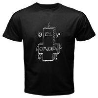 Venta caliente de la manera ofwgkta Cruz logo Golf Wang Tyler el Creador hombres negro t-shirt tamaño S a 3XL marca hip-Hop top