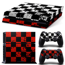 For Sony Playstation 4 Console Sticker + 2 Controller Vinyl PS4 Skin Stickers Game Accessory