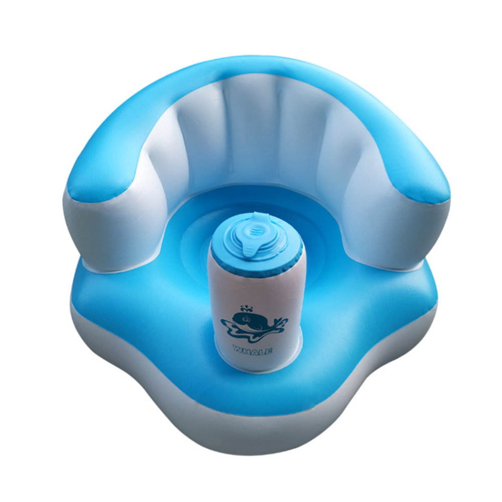 Baby Kid Seat Children Inflatable Bathroom Chair Seat Learn Portable Multifunctional Sofa High Quality