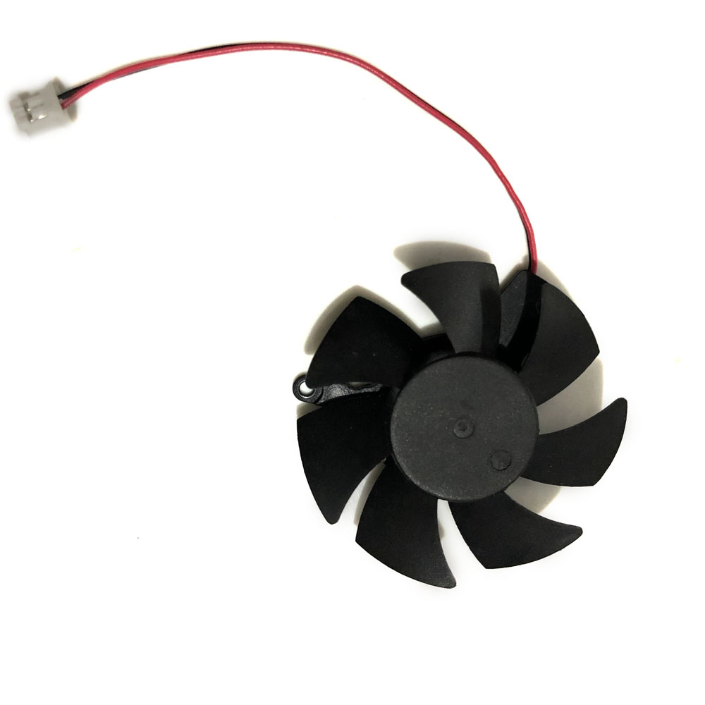 2pin Diameter 45mm xfx hd5450 HD 6570 GPU VGA Cooler Graphics Card Cooling Fan For AMD XFX hd6570 hd-5450 Video cards Cooling image