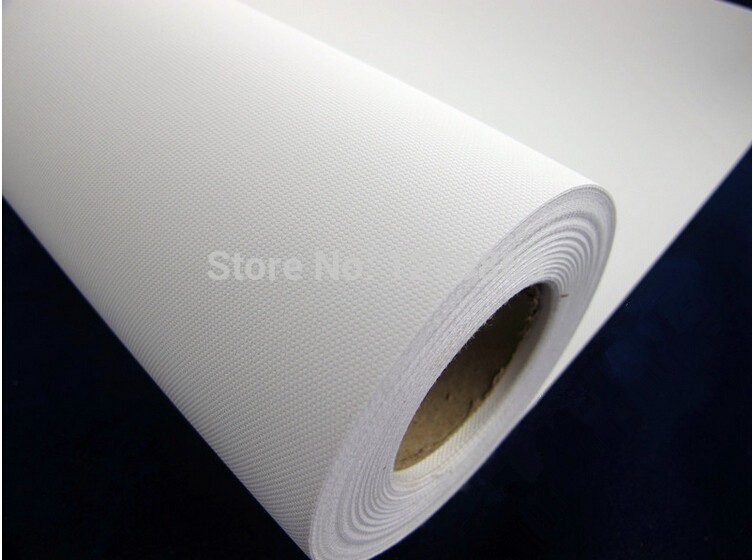 260g water resistant polyester inkjet canvas roll for wholesale matte surface 18m long