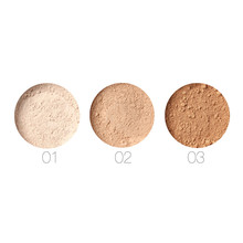 New 1pc Professional Powder Makeup Loose Powder Long Lasting Breathable Transparent Finish loose Powder Palette Beauty tool