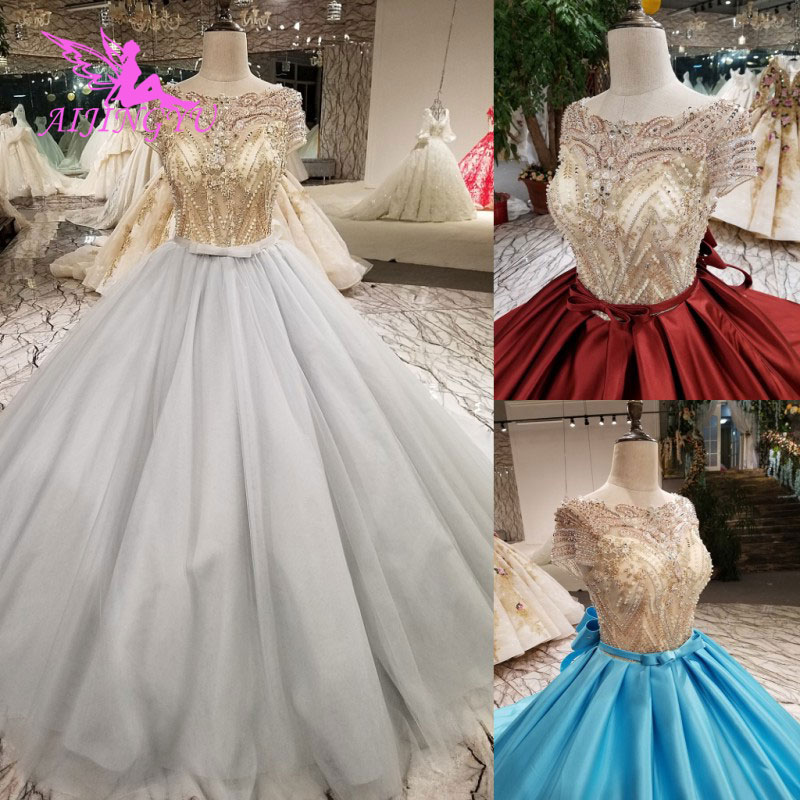 AIJINGYU Where To Buy Wedding Dresses Dres Cheap Made In