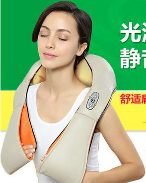 Multifunction health care car home pillow massager acupuncture kneading heating neck shoulder massager anti cellulite концентрат health