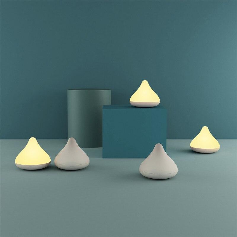 Créatif chocolat forme sans fil LED veilleuse décoration de la maison lampe étanche contrôle tactile gradation lumières pour bébé enfants