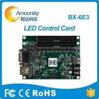 Mejor venta Bx-6E3 tarjeta de Control de pantalla Led para desplazarse pantalla Led