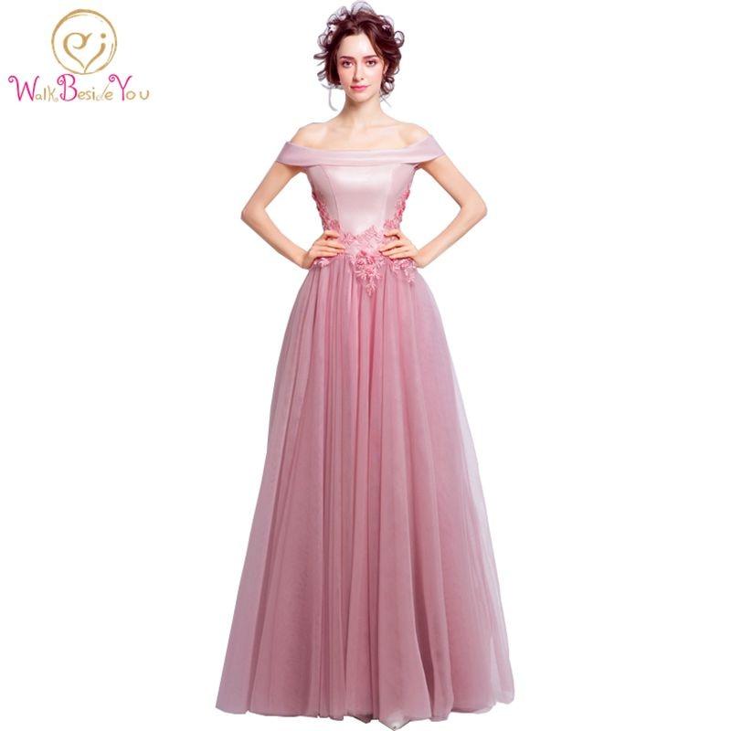 100% fotos reales elegantes vestidos de fiesta largo vestidos de ...