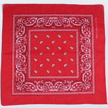 2018 Newest Cotton Blend Hip-hop Bandanas For Male Female Head Scarf Scarves Wristband hot selling