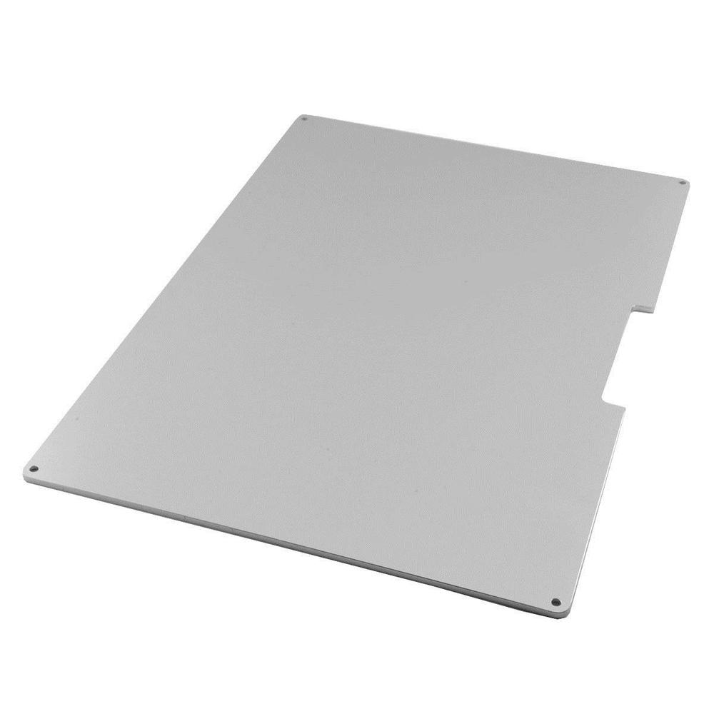 Funssor 300x200mm Aluminum Heated Bed Bulid Plate for RepRap Prusa i3 3D Printer Upgarde Kit prusa i3 update version large size xl aluminum extended 300x200mm y carriage plate for reprap 3d printer